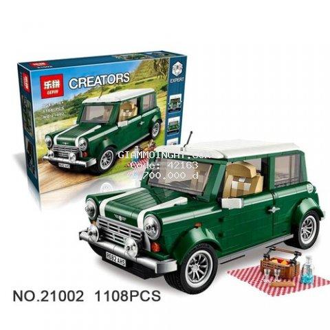 Đồ chơi lắp ráp ô tô non - lego creator xe mini cooper xếp hình Leji 20004 / 21002