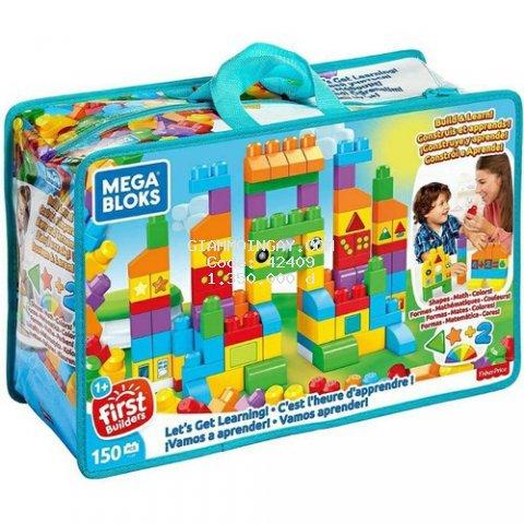 Đồ chơi Megablok - Mega Bloks Let's Get Learning!-150 chi tiết