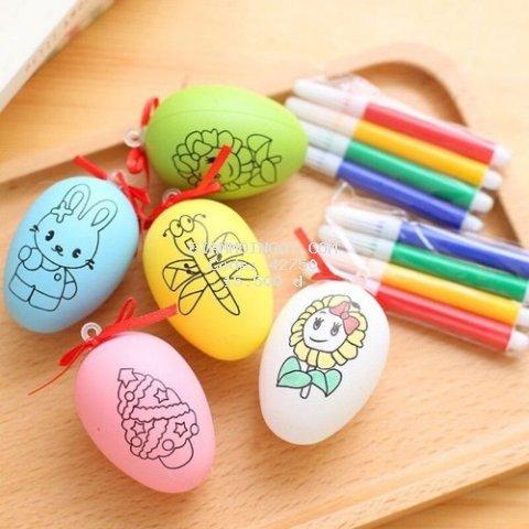 Đồ chơi trứng tô màu nhiều màu sắc cho bé
