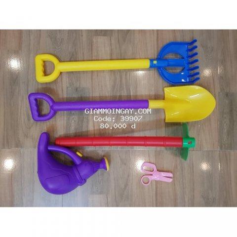 Đồ chơi Túi dụng cụ làm vườn 5 món