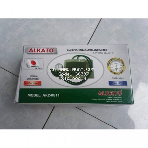 Đo huyết áp cơ ALPK2 0811 (bao gồm tai nghe)