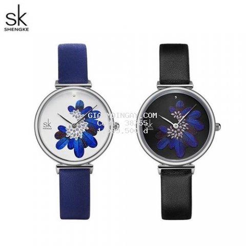 Đồng hồ nữ Chính Hãng Shengke Korea K0123L