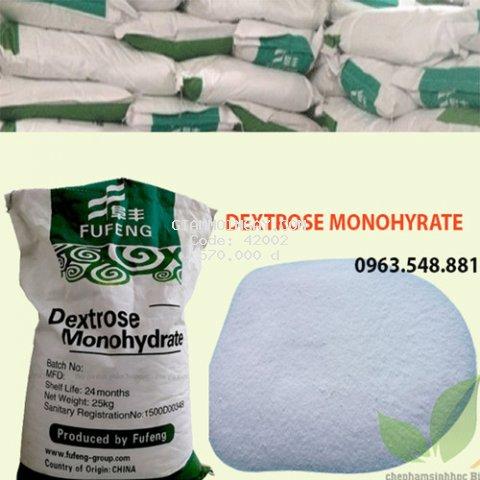 Đường Dextrose Mono Hydrate  Bao 25kg.