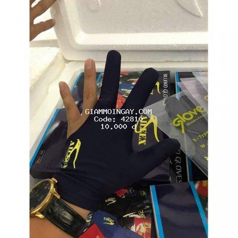 Găng tay Bi-a in logo Aileex.