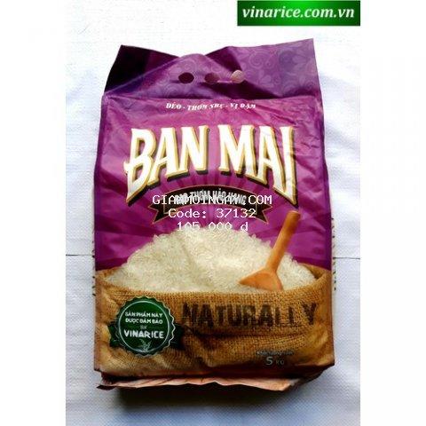 Gạo Ban Mai Hảo Hạng 5kg - Dẻo vừa mềm thơm cơm