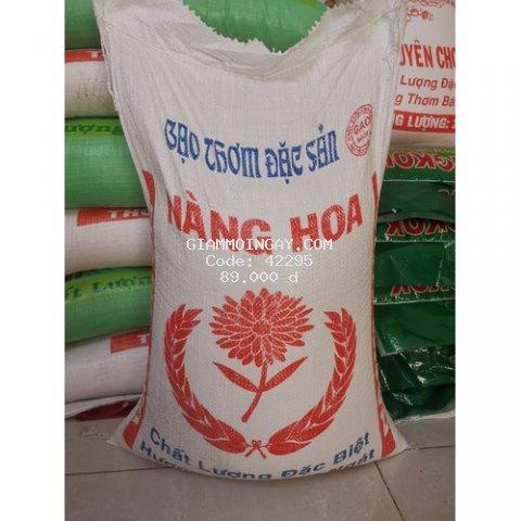 Gạo nàng hoa (dẻo mềm) túi 5kg