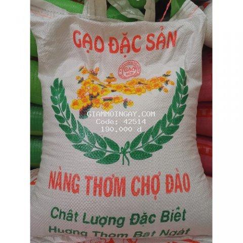 Gạo nàng thơm chợ Đào (Xốp mềm) túi 10kg