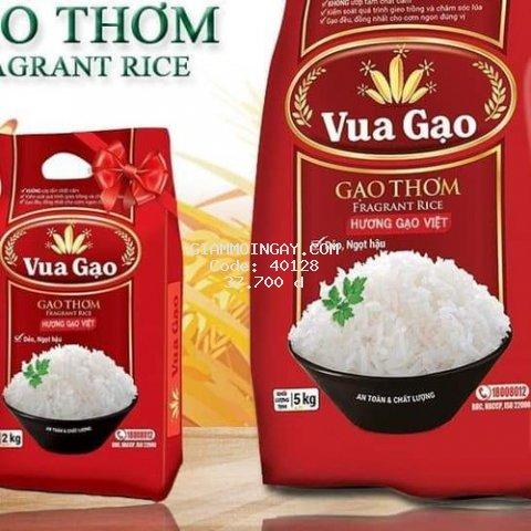 Gạo thơm Vua Gạo Hương Việt