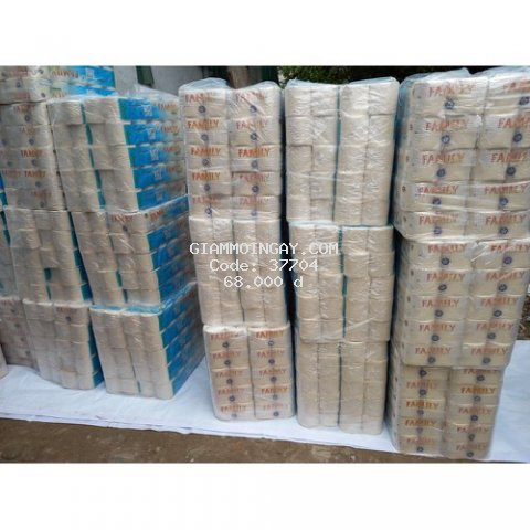 giấy vệ sinh bột tre cao cấp famyly 10 cuộn 3 lớp
