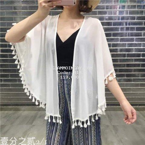 [HÀNG HOT_KÈM ẢNH THẬT] Áo Khoác/ Choàng Kimono Form Ngắn Đi Biển/ Đi Chơi Xinh Xắn