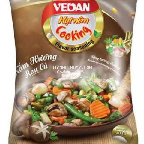Hạt nêm chay Vedan Nấm Hương Rau Củ 400gr