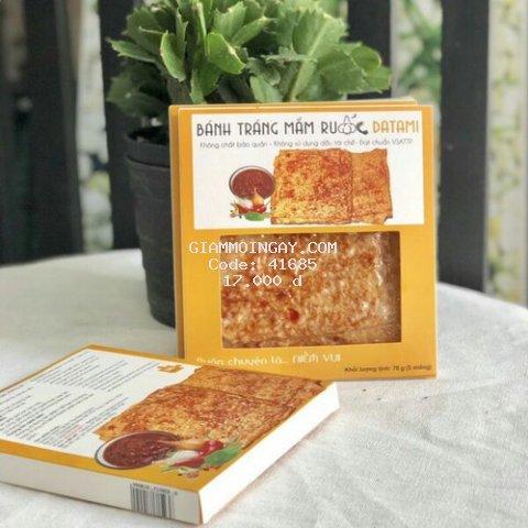 [Hộp] Bánh Tráng Mắm Ruốc 70g - Datami