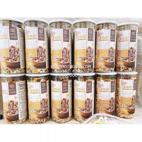 Hộp ngũ cốc granola 500gr - hỗ trợ giảm cân