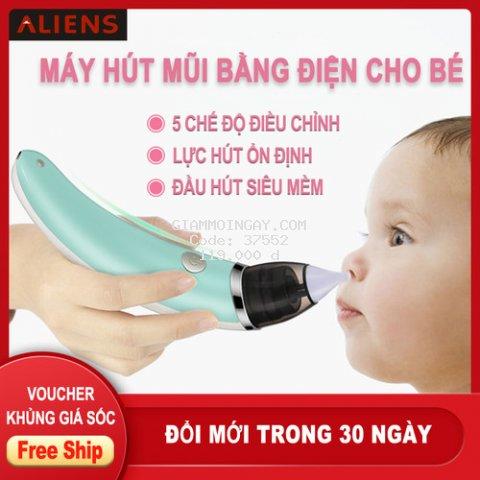 [KAZAK] Máy Hút Mũi Cho Bé Little Bee cao cấp, được làm từ chất liệu an toàn cho trẻ em,hiệu quả tức thì