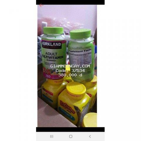 Kẹo dẻo bổ sung vitamin cho người lớn