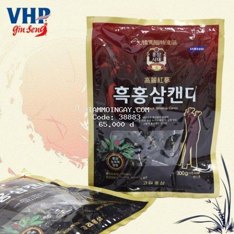Kẹo hắc sâm hàn quốc Korean black ginseng candy 300gram