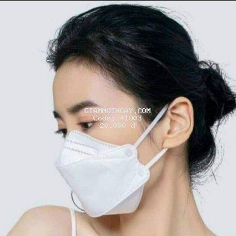 Khẩu trang y tế 4D kháng khuẩn cao cấp