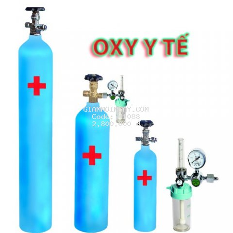 Khí Oxy y tế tại nhà 40L