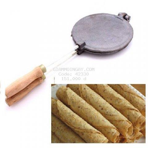 Khuôn Làm Bánh Kẹp Cuốn Bằng Gang