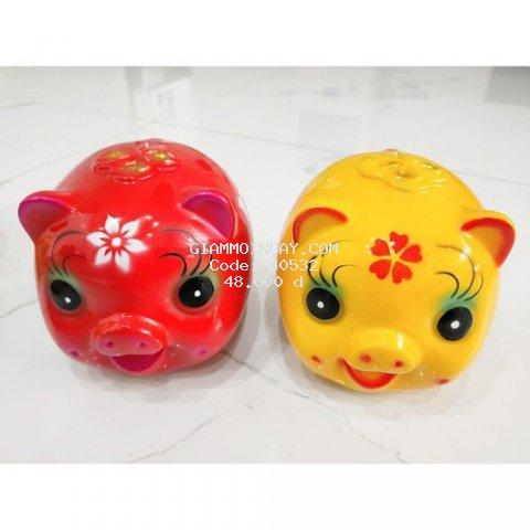 lợn tiết kiệm có nhiều mầu sắc đẹp