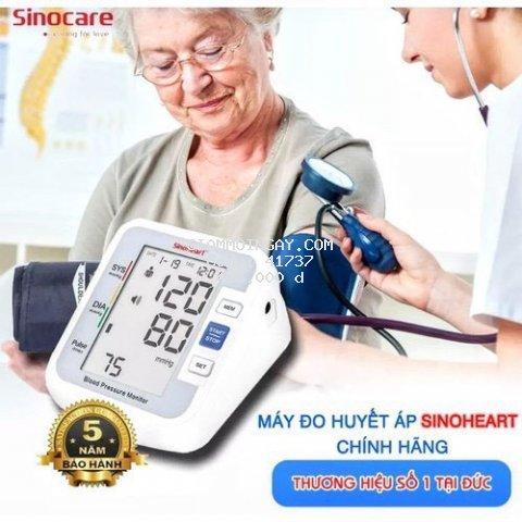 Máy đo huyết áp bắp tay tự động giọng nói tiếng việt bản mới loại tốt bảo hành 5 năm, máy đo nhịp tim huyết áp chuyên dụng nhỏ gọn cho mọi người