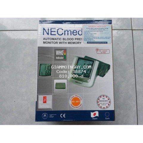 Máy đo huyết áp bắp tay tự động NECMED