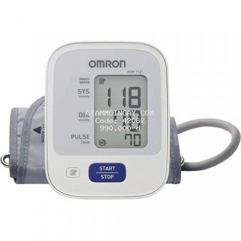 Máy đo huyết áp bắp tay tự động Nhật Bản CHÍNH HÃNG tặng kèm pin