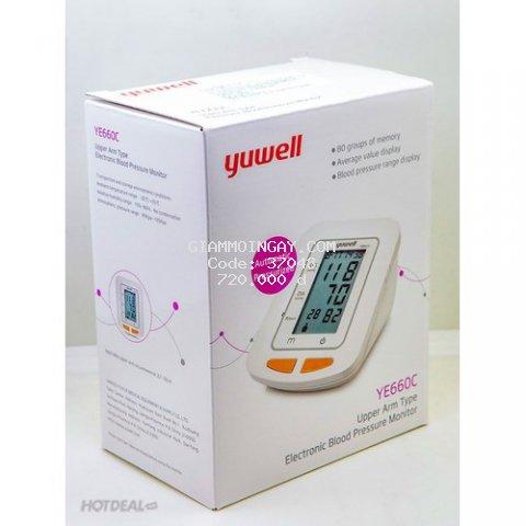 Máy đo huyết áp YUWELL YE660C