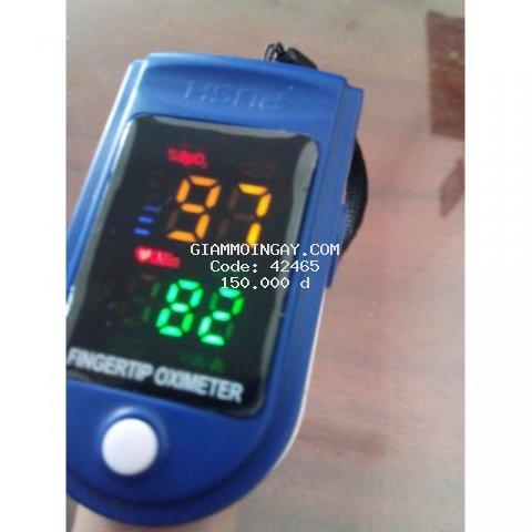 Máy đo nồng độ ô xy máu Sp02 , đo nhip tim