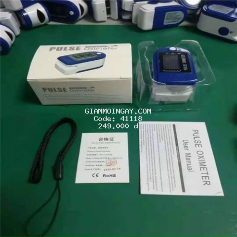máy đo nồng độ oxy trong máu và đo nhịp tim spo2