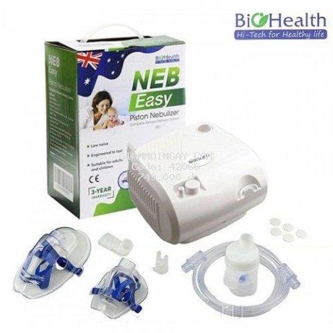 Máy khí dung xông mũi NEB EASY chính hãng Biohealth Úc