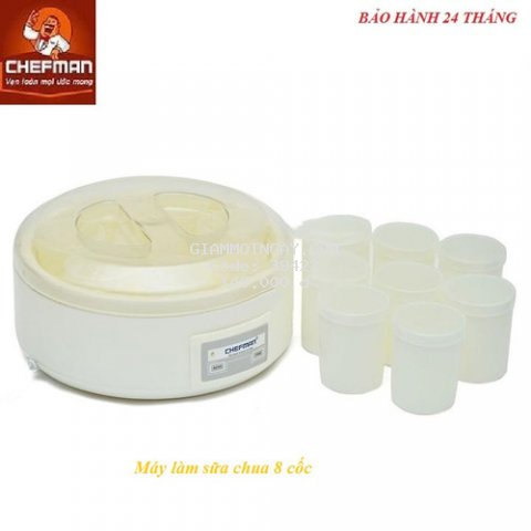 Máy làm sữa chua Chefman 8 cốc -CM 302N