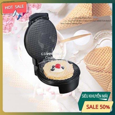 Máy làm vỏ bánh kem ốc quế chính hãng SOKANY