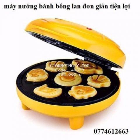 máy nướng bánh bông lan
