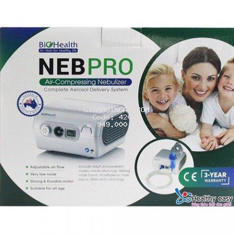 Máy xông khí dung NEB PRO chính hãng (BioHealth) Úc