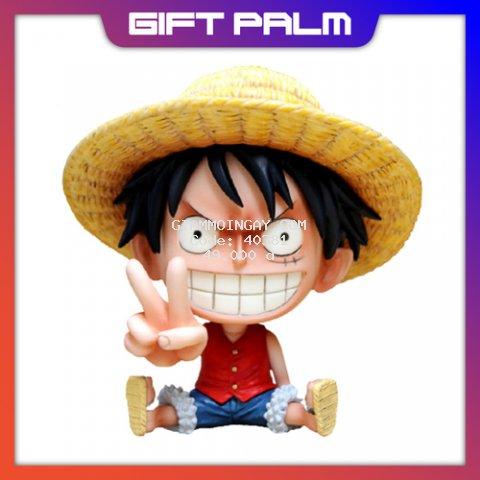 Mô Hình Chibi Luffy trong One Piece đảo hải tặc figure