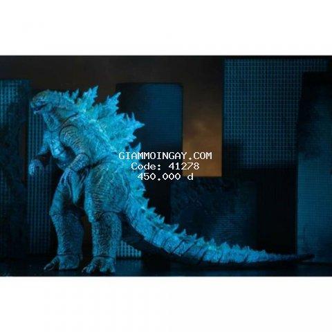 Mô hình đồ chơi khủng long Godzilla 2019. dạng phung tia laser. (có sẵn).