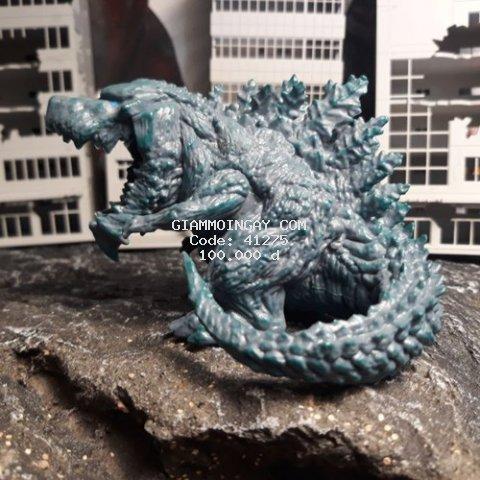 Mô hình đồ chơi khủng long Godzilla baby siêu kute 8cm. (có sẵn).