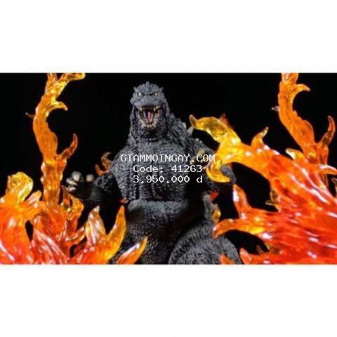mô hình đồ chơi quái vật Godzilla 1995 SH Monsterarts. ( hàng chính hãng).