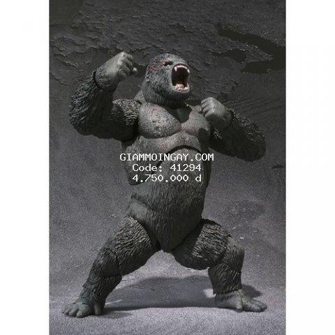 mô hình đồ chơi quái vật Godzilla. Kingkong SH Monsterarts 2005.  ( hàng chính hãng ).