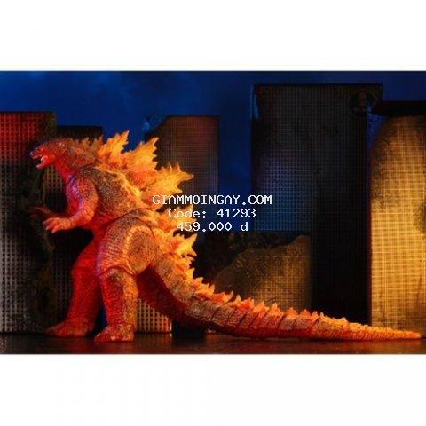 Mô hình đồ chơi quái vật khủng long burning Godzilla NECA 2019.
