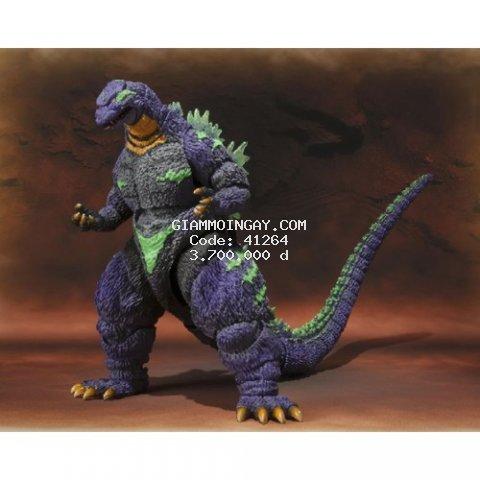 mô hình quái vật Godzilla feat EVA 01. SH MonsterArts 1995. phiên bản giới hạn. ( hàng chính hãng).
