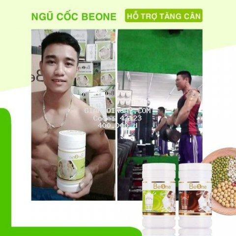 Ngũ cốc dinh dưỡng Beone tăng cơ, tăng hệ miễn dịch. 500g/hộp