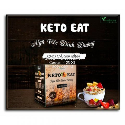 Ngũ Cốc Dinh Dưỡng KETO EAT - Hỗ Trợ Giảm Cân
