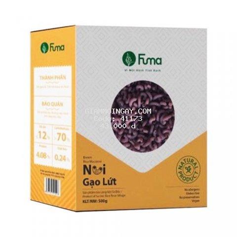 Nui gạo lứt cao cấp Fuma 500gr, thực phẩm cho người ăn kiêng/chay/eatclean/keto
