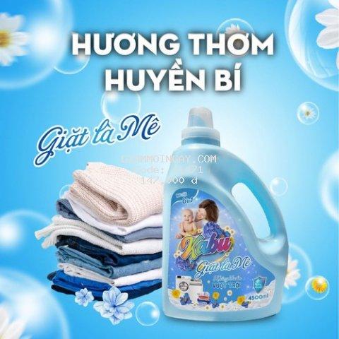 Nước giặt đậm đặc Kabu 6 in 1 Hương Fineline 4,5 Lít ( tặng thêm 200m)