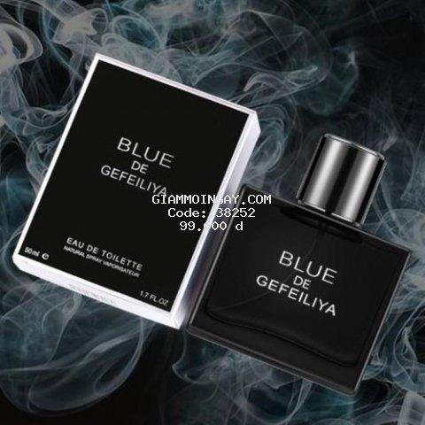Nước hoa nam , nước hoa chính hãng lưu hương lâu Blue De Beautiful 50ml Nh08 tặng quà 30k
