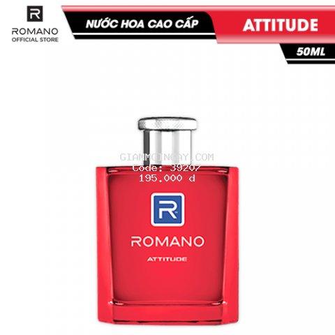 Nước hoa Romano Attitude nồng ấm cá tính hương nam tính 50ml