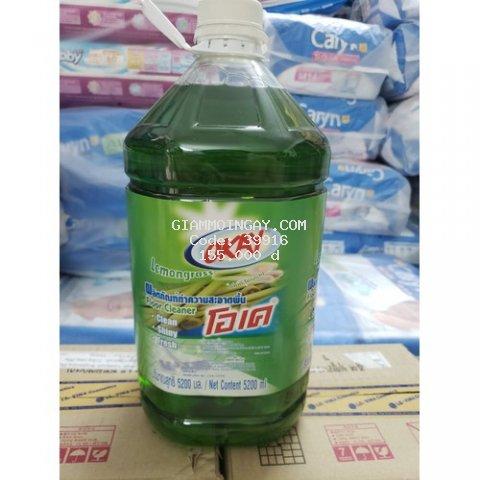 Nước lau sàn Okay Thái Lan 5.2 lít