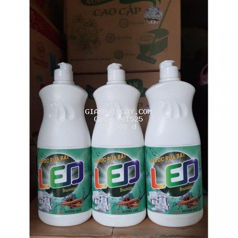 Nước rửa chén Quế LED 800ml (Công nghệ Thái)